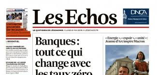 """""""La finance d'Etat à la française fait encore école en Afrique"""" (Les Echos, 30 sept. 1er oct. 2016, p. 31, par Sharon Wajsbrot)"""