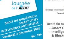 V. La blockchain : remarques finales et working paper (Colloque AFDIT Aix-en-P., 5), éléments préparatoires (Colloque AFDIT, 28 avril 2017, Paris)