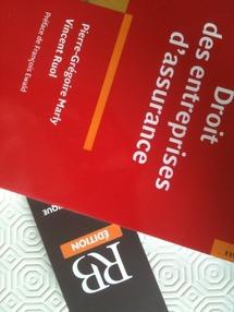Droit des entreprises d'assurances, éd. Revue Banque, 2011, par P.-G. MARLY et V. RUOL.