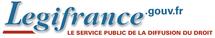 Extraordinaire site internet Legifrance ! La réussite du Service Public de Diffusion du Droit.