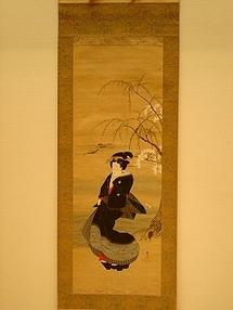"""Une puydômoise héritière de deux kakemonos japonais marqués """"Musée Guimet"""" : un don de Emile GUIMET à Prosper ALFARIC ?"""