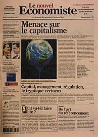 Après un échange avec M. Franck BOUAZIZ du journal Le Nouvel Economiste...