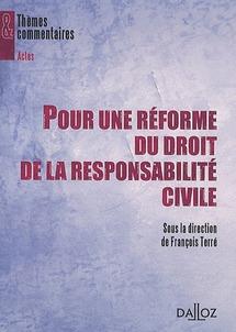 Maître Claudine BERNFELD attaque le rapport TERRE sur la responsabilité civile (JCP G, 2012, 30)