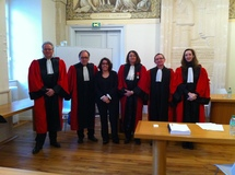 La banque actionnaire, soutenance de Mme Valérie DEBRUT (Université de Poitiers)