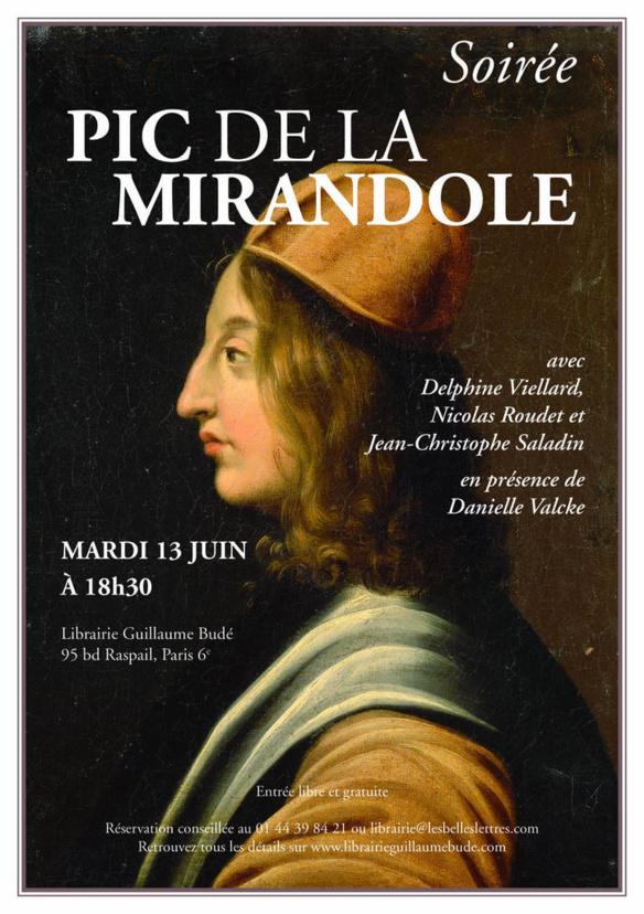 Le style est déjà du fond : écriture, pensée et idée. Quelques lignes de Jean Pic de la Mirandole sur de beaux auteurs..
