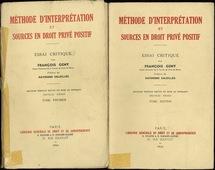 """les deux tomes de """"Méthode d'interprétation"""""""