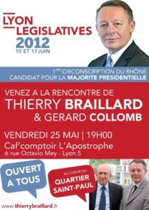 """Thierry Braillard candidat PRG peut être un """"candidat majorité présidentielle 2012"""" (TGI Lyon, Parti Socialiste c/ T. Braillard, 4 juin 2012, décision en PJ)"""