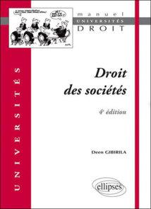 Manuel : Droit des sociétés, par Deen Gibirila.