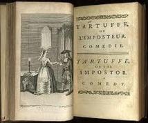 L'introduction. Technique. Mise en scène d'un Tartuffe qui évite le sujet, et de Dorine qui l'introduit !