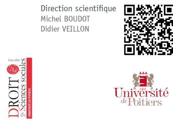 Les propriétés 2015, Faculté de droit de Poitiers (6 / 11 juillet 2015) : un programme très ambitieux !