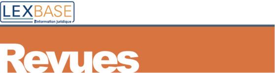 Panorama de Droit bancaire et financier : 30 arrêts commentés, 40 arrêts exploités (Hebdo Affaires, Lexbase)