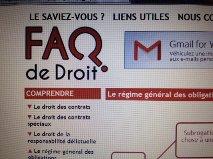 """Travailler son droit sur l'internet, oui c'est possible ! Voyez (aussi) le site """"faqdedroit.fr"""" (subrogation, cession, compensation...)"""