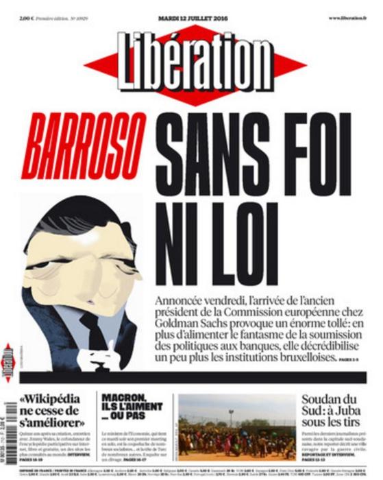 Libération trouve le titre idéal