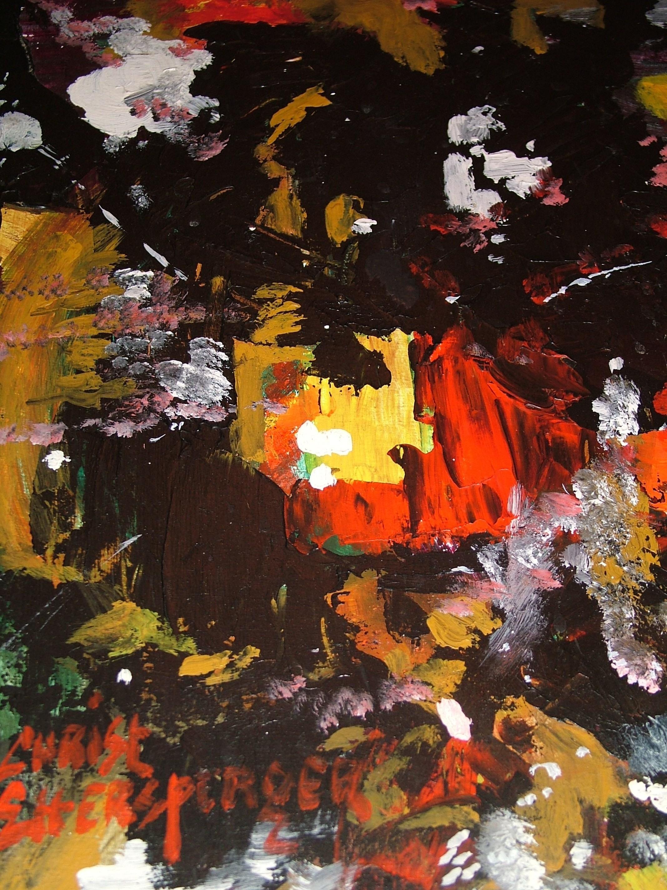 Peinture de mon ami Christian ETTESPERGER