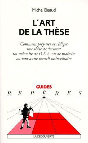 Un exemple d'ouvrage qui aide à se lancer dans la recherche
