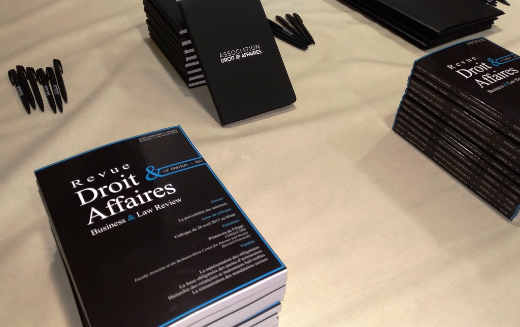 """L'AD&A publie la 14e édition de la Revue Droit & Affaires, avec pour thème """"La prévisibilité des sanctions""""."""