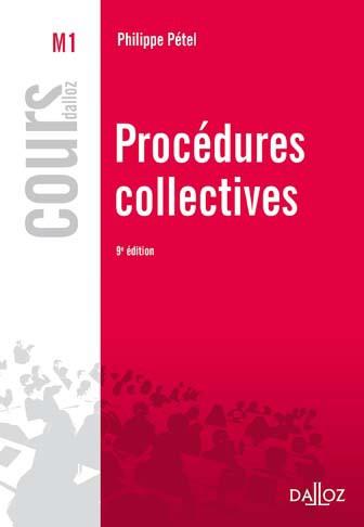 Procédures collectives, par Philippe Pétel