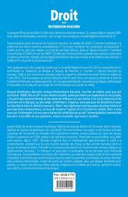 Droit de la distribution bancaire, par Laurent DENIS