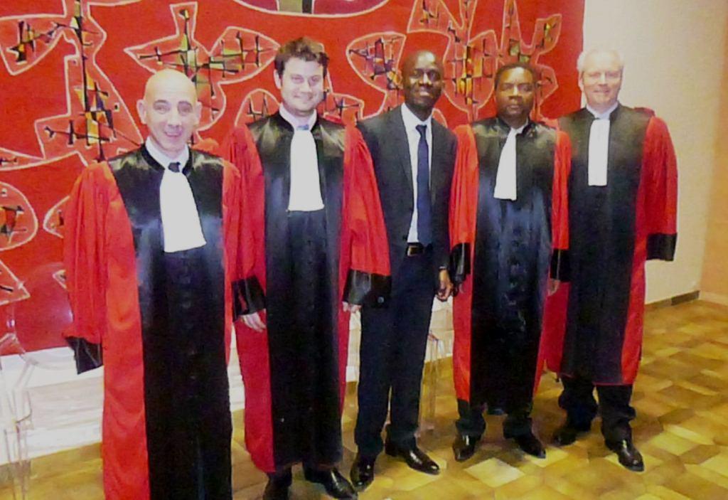 Soutenances juridiques francophones de H. KEUFACK, A. PETCHEZY et R. OBIANG : étudiants africains de Clermont, Droit bancaire et financier