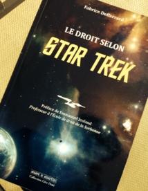 """""""Le droit selon Star Trek"""" obtient le prix Olivier Debouzy de l'agitateur d'idées juridiques"""