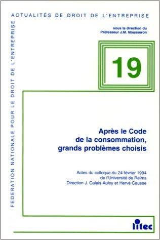 Un nouveau Code de la consommation !