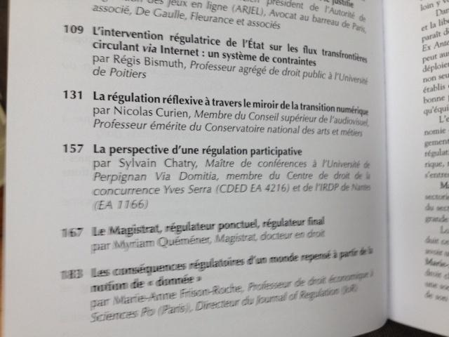 """Une idée, une voie en colloque :""""Internet, espace d'interrégulation"""" (dir. M.-A. Frison-Roche, Dalloz & the Journal of Regulation)"""