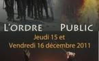 L'ordre public, Colloque, Equipe Michel de l'Hospital, Clermont-Ferrand.
