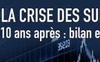 La crise des subprimes, 10 ans après : bilan et perpectives, par le Master Droit des affaires, DBF