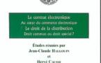 Livre, le Contrat électronique (Ed. LGDJ)