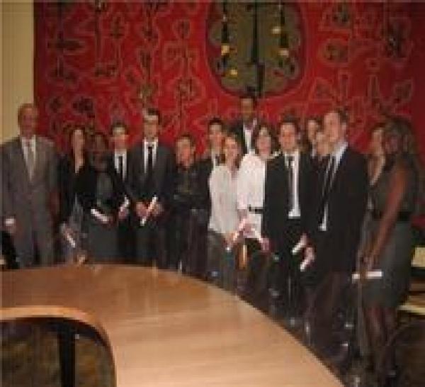 Remise des diplômes du Master 2 Droit des Affaires & de la Banque et du Master 2 Droit de l'Entreprise et Fiscalité