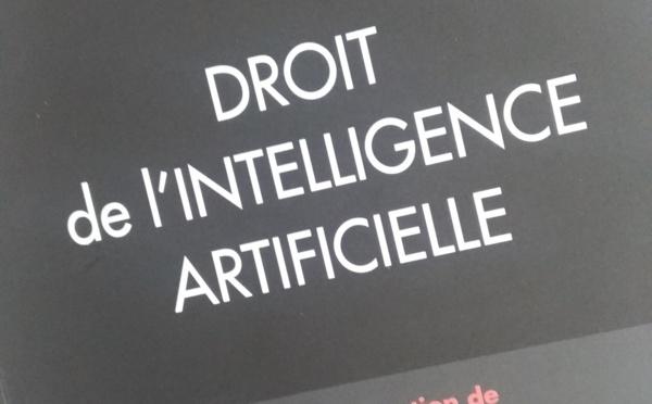 En vente ! Droit de l'intelligence artificielle, LGDJ Lextenso, dir. G. Loiseau et A. Bensamoun