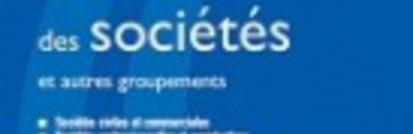 Ordonnance n° 2014-863 du 31 juillet 2014 relative au droit des sociétés