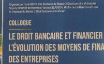 Nouveaux moyens de financement, colloque M2 Droit bancaire et financier (Clermont, Ecole de Droit)