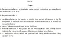 """""""AI systems"""" : pour régir l'intelligence artificielle, l'Union européenne imposera le concept délaissé de système avec les systèmes d'IA !"""